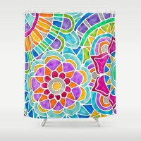 whimsical Shower Curtains featuring Whimsical by ArtLovePassion
