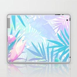 Pastel Rainbow Tropical Paradise Design Laptop & iPad Skin
