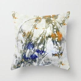 plant painting Throw Pillow