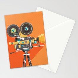 Cine: Orange Stationery Cards
