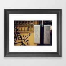 Pay Phone IV Framed Art Print