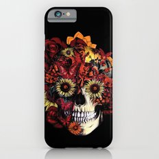 Full circle...Floral ohm skull iPhone 6s Slim Case