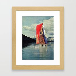 Transmission Framed Art Print