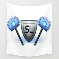 community Wall Tapestries featuring Steelbourne Legion Gaming Community Logo by The Steelbourne Legion