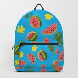 Summer Watermelon Pattern Backpack