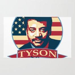 Tyson For President Rug