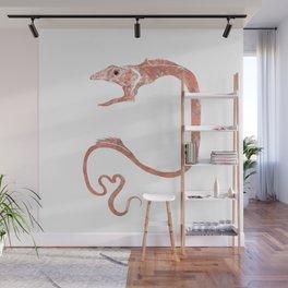 Gulper Eel deep sea fish art Wall Mural