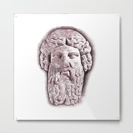 Socrates Metal Print