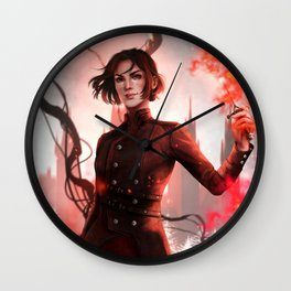 Lila Bard Wall Clock