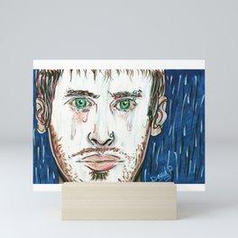 Sad-Minded Mini Art Print