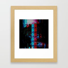 Face of a thousand Voices Framed Art Print