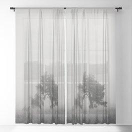 the fog ... Sheer Curtain
