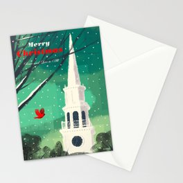 Christmas Holiday Winter Stationery Cards