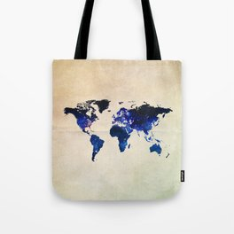 Big World Out There Tote Bag