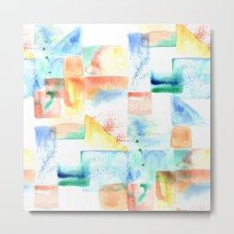 Color Fields Light Metal Print