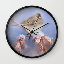 Winter Chill Wall Clock