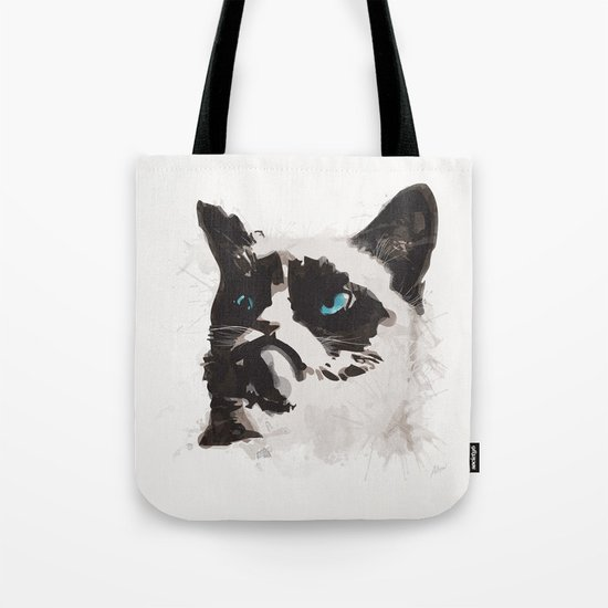 Cat that's Grumpy Tote Bag