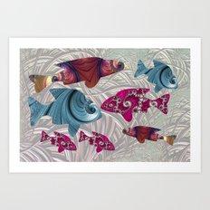 A Fishermans Tale Art Print