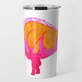 Psychadelic Bison Travel Mug