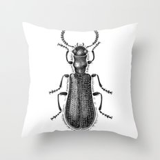 Beetle 04 Throw Pillow