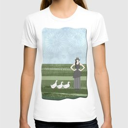 Pekin duck lady T-shirt