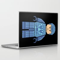 tron Laptop & iPad Skins featuring Tron Lego by Ant Atomic