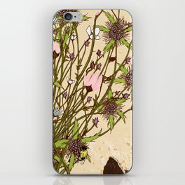 Wild Flowers Part 2 iPhone Skin