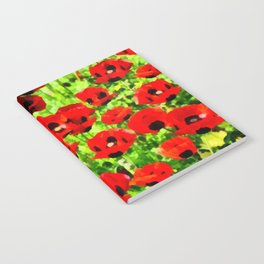 Poppies 4 Notebook