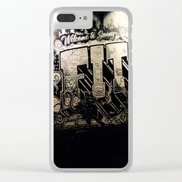 Street Art Clear iPhone Case
