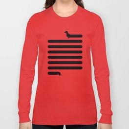 (Very) Long Dog Long Sleeve T-shirt