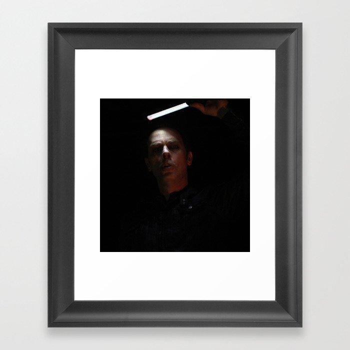 Peter Murphy Live Framed Art Print