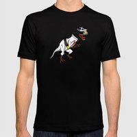 T-Rex (The X Roarcer) Black MEDIUM Mens Fitted Tee