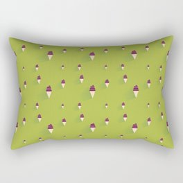 Soft Ice Cream Rectangular Pillow