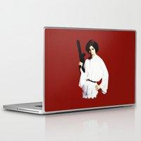 princess leia Laptop & iPad Skins featuring Princess Leia by Ms. Givens