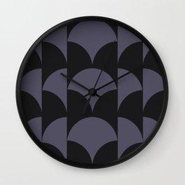 Cleo Pattern - Midnight Wall Clock