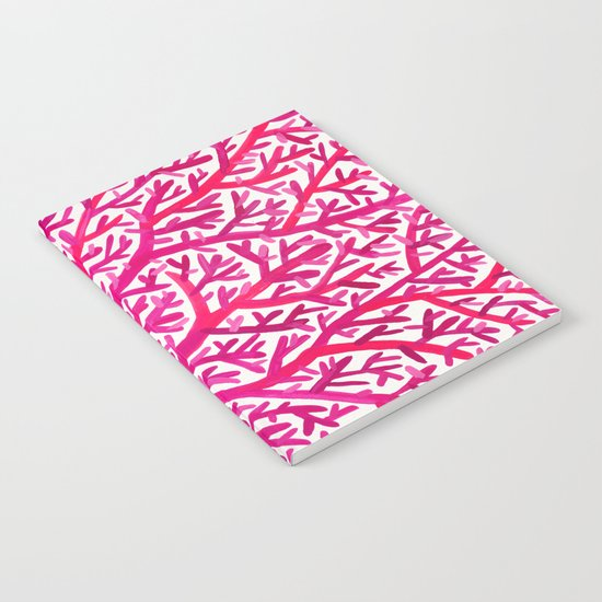 Fan Coral – Pink Ombré Notebook