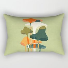 Little mushroom Rectangular Pillow