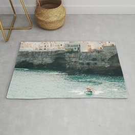 Summer in the riviera Rug