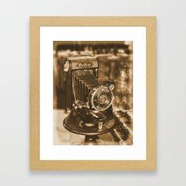 Vintage Zeiss Ikon camera Framed Art Print