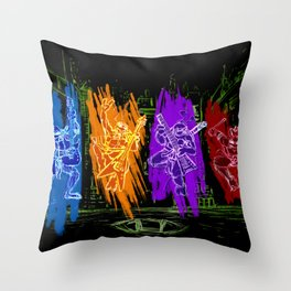 TMNT Rock Throw Pillow