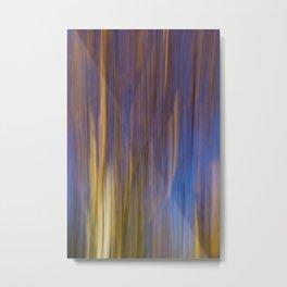 Autumn Abstract Metal Print