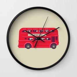 Double Decker - London Wall Clock