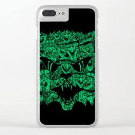 Kitty Witches Clear iPhone Case