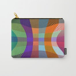 Pinched Plaid Carry-All Pouch