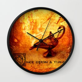 Once Upon A Time Fairy Tale  Wall Clock