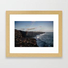 Hawaii Volcanoes National Park Framed Art Print