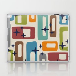 Retro Mid Century Modern Abstract Pattern 224 Laptop & iPad Skin