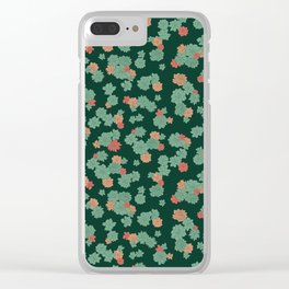 Succulents - Small Clear iPhone Case