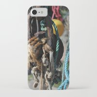 tool iPhone & iPod Cases featuring fisherman's tool by  Agostino Lo Coco