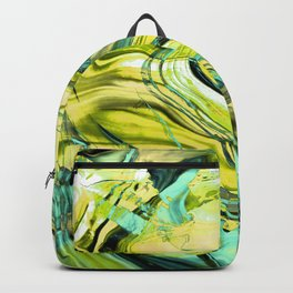 ABSTRACT COLORFUL PAINTING III Backpack
